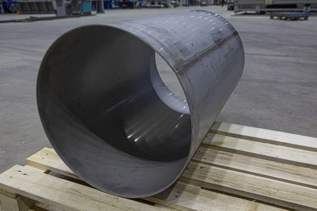 Цилиндр металлический сварной