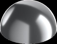 Полусферы из металла производство